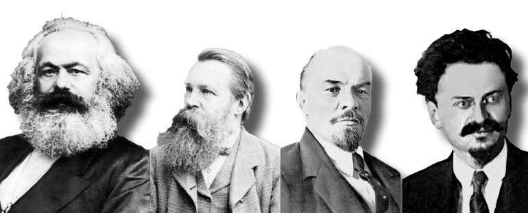 Marx, Engels, Lenine, Trotsky